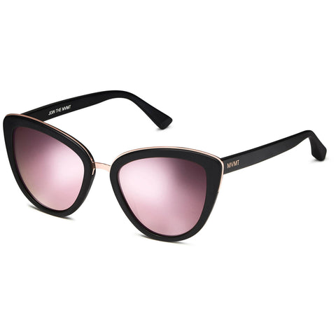 hover_Matte Black/Rose Mirror Lenses
