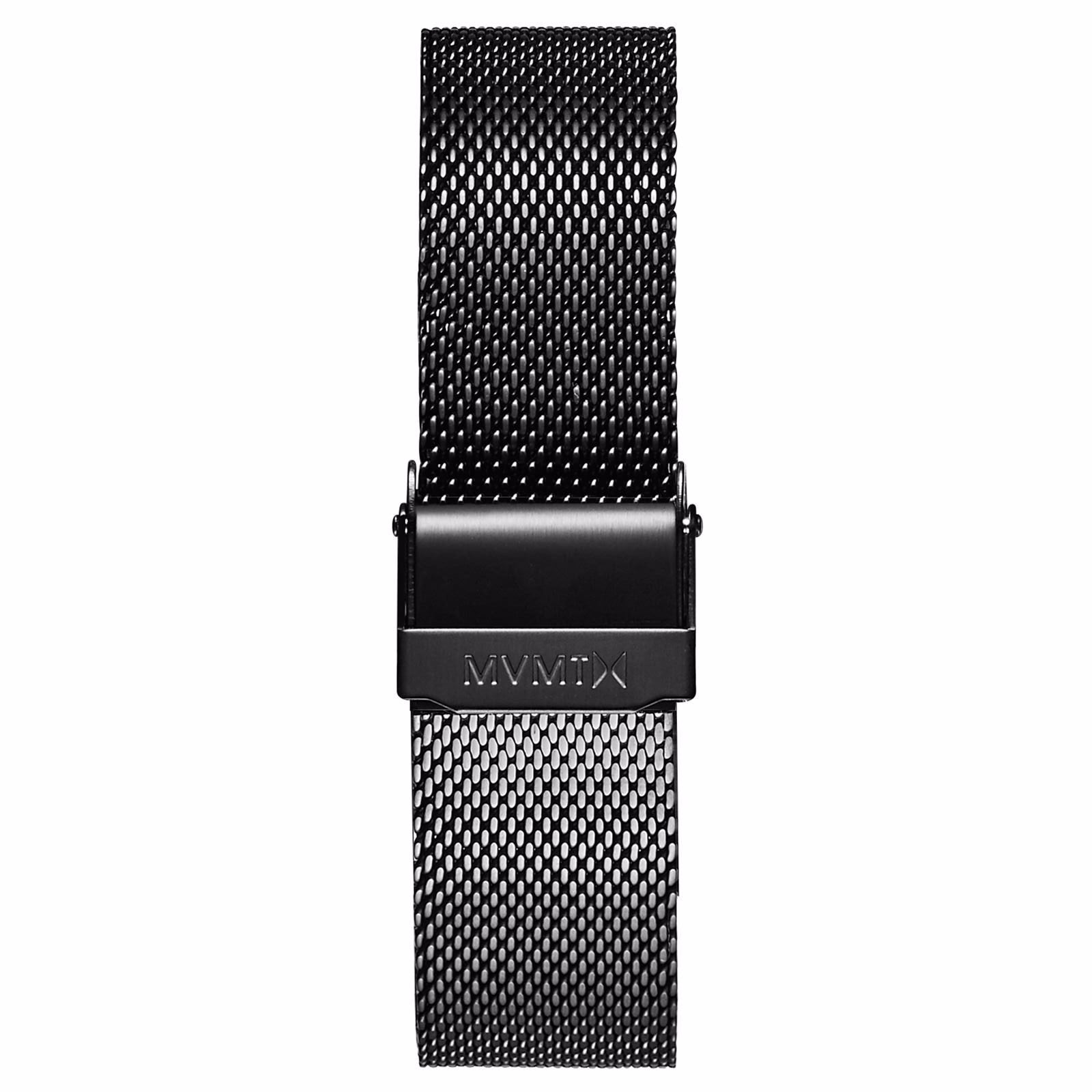 Boulevard - 18mm Mesh Band - black