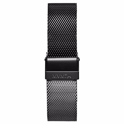 Boulevard - 18mm Mesh Band black