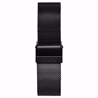 Boulevard - 18mm Mesh Band Matte Black