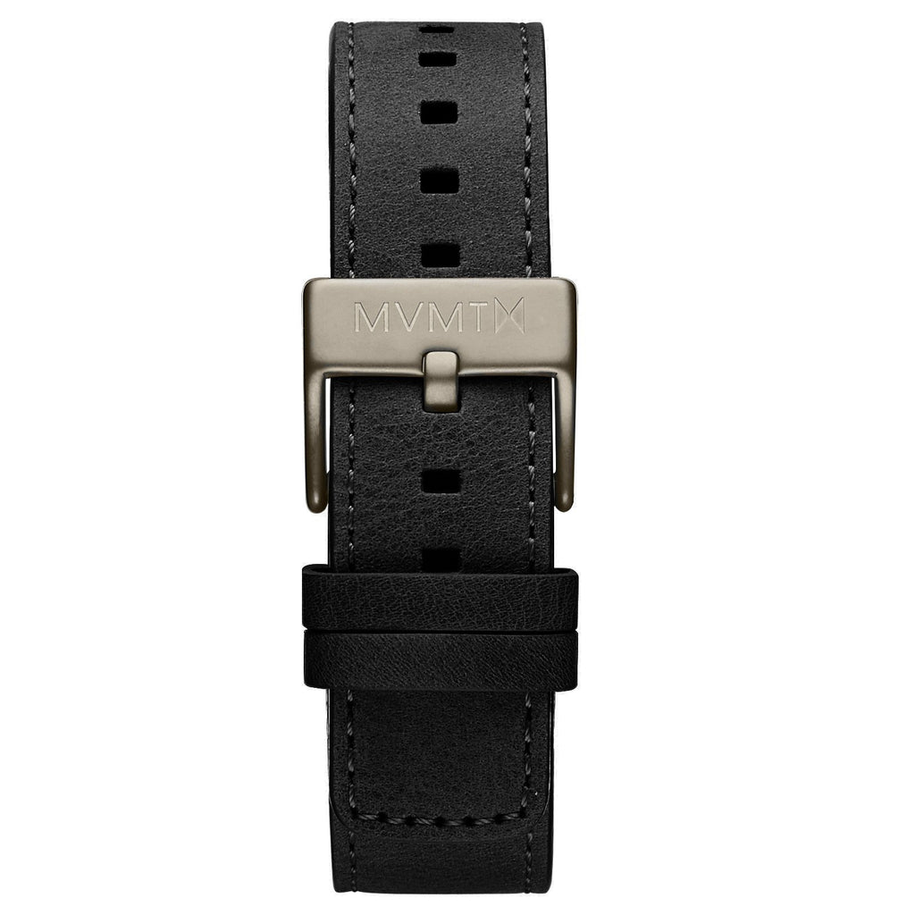 Modern Sport - 20mm Black Leather