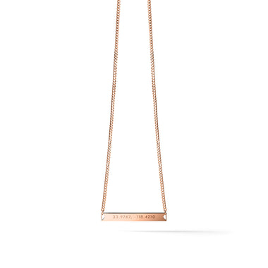 Origin Necklace Rose Gold