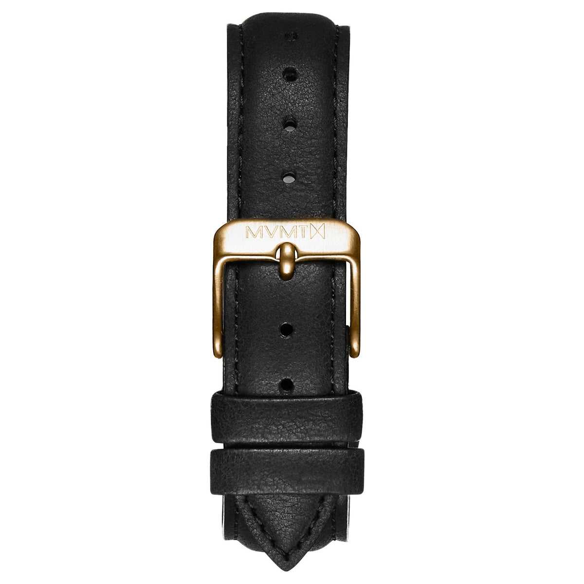 Boulevard - 18mm Matte Black Leather