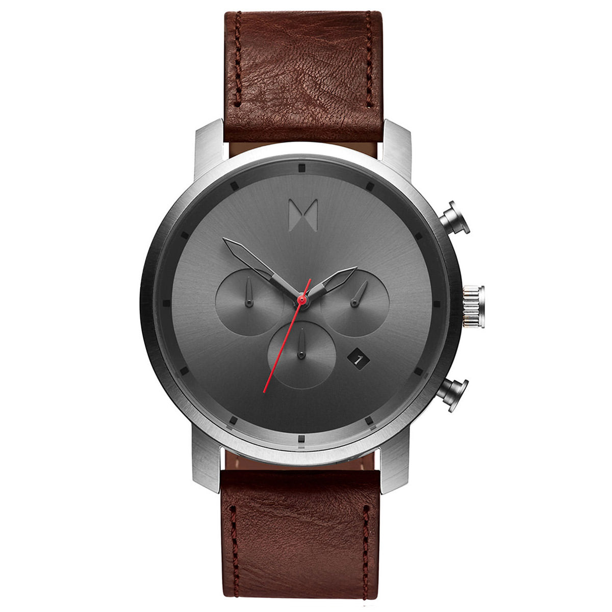 Chrono Gunmetal Chestnut