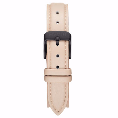 Avenue - 14mm Nude Leather Black