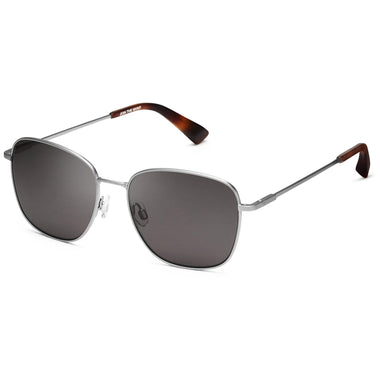Outlaw Polarized Matte Silver/Dark Grey Lenses