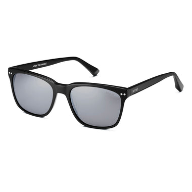 Ritual Polarized Pure Black/Silver Flash