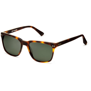 Ritual Polarized Matte Whiskey Tortoise/Dark Green Lenses