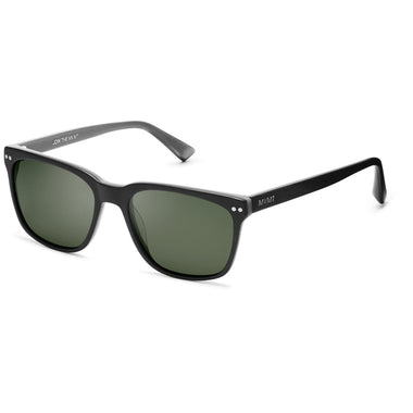 Renegade Matte Black/Dark Green Lenses