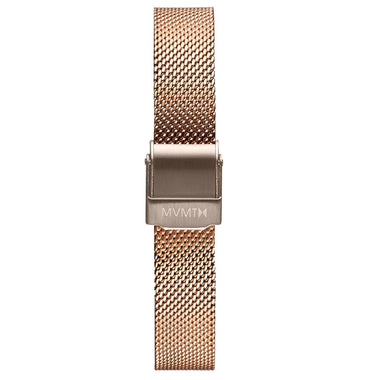 MOD - 12mm Mesh Band rose gold taupe