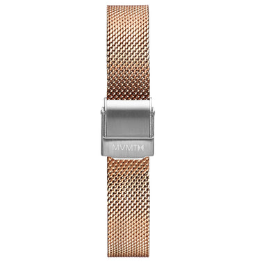 MOD - 12mm Mesh Band rose gold silver