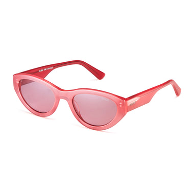 Street Goggle Milky Red/Cherry