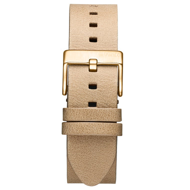Rise - 20mm Sandstone Leather Gold
