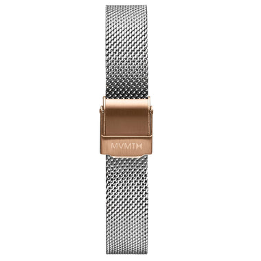 MOD - 12mm Mesh Band silver rose gold