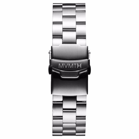 Modern Sport - 20mm Steel Band silver