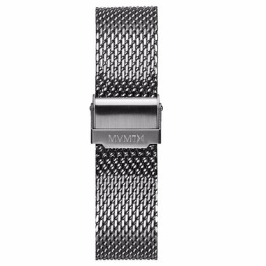 Voyager - 21mm Mesh Band silver