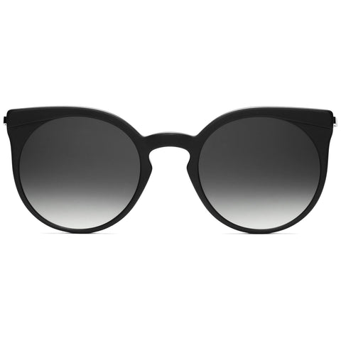 Sphynx Matte Black/Transparent Mirror Lenses