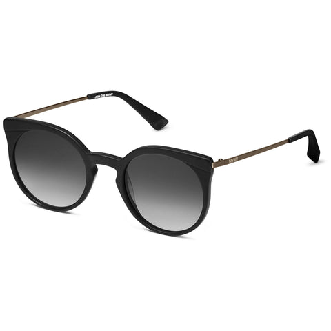 hover_Matte Black/Transparent Mirror Lenses
