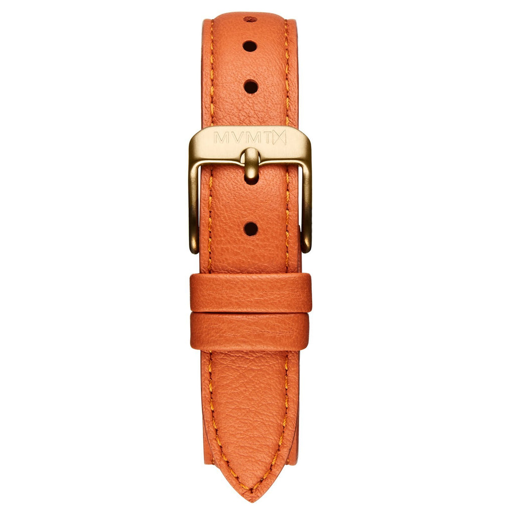 Avenue - 14mm Orange Leather