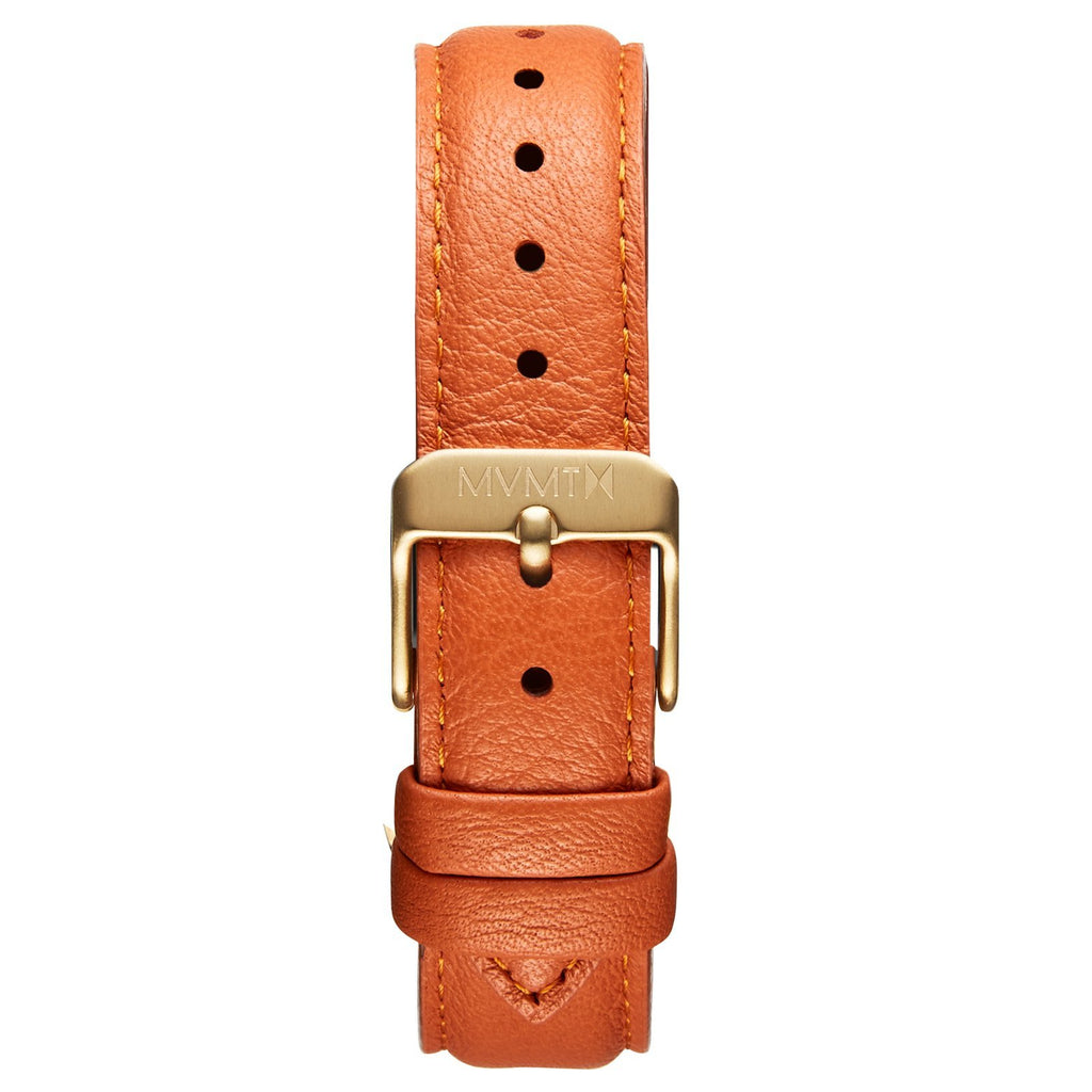 Boulevard - 18mm Orange Leather