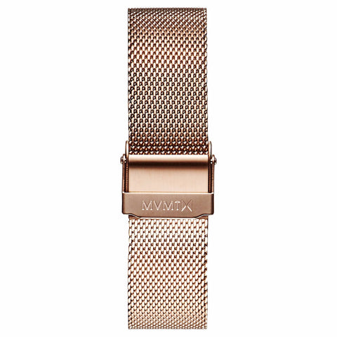 Boulevard - 18mm Mesh Band rose gold