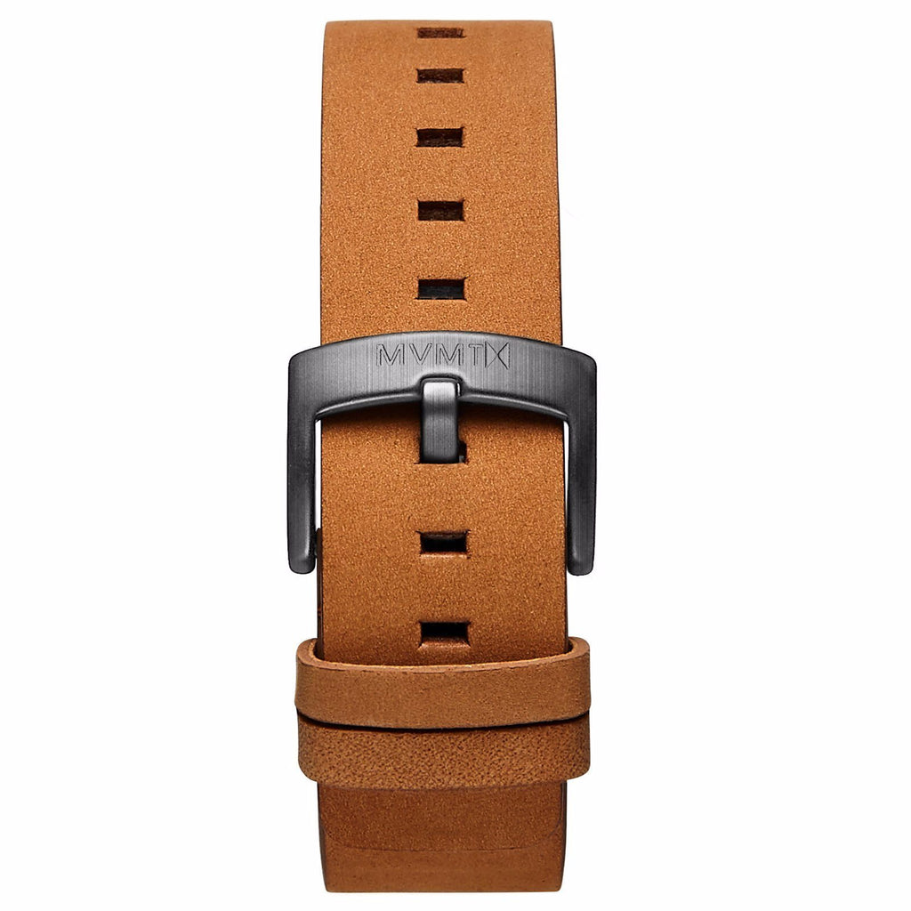 Revolver - 20mm Tan Leather