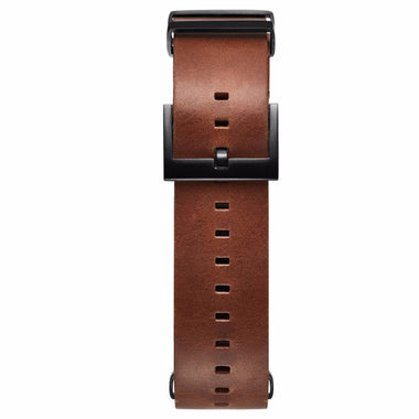 Voyager - 21mm Tan Leather black