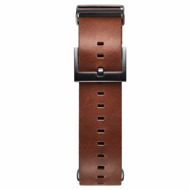 Voyager - 21mm Tan Leather gunmetal