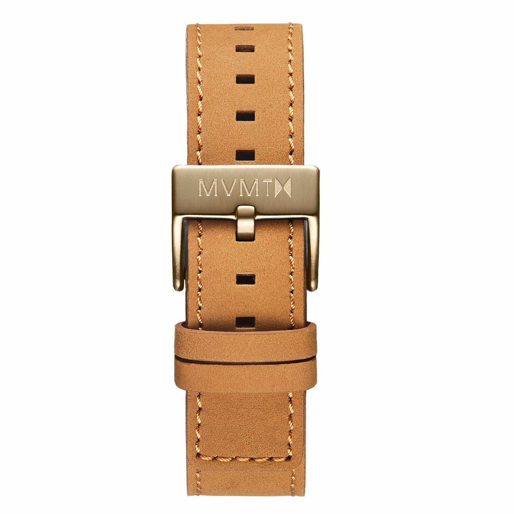 Chrono - 20mm Tan Leather