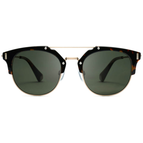 Weekend Noir Tortoise/Dark Green Lenses
