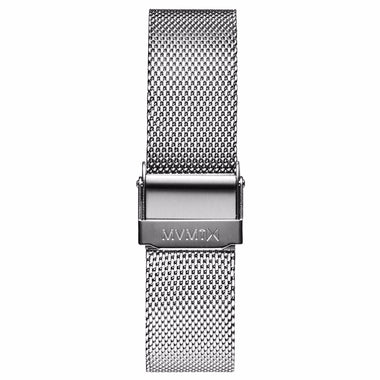 Boulevard - 18mm Mesh Band silver