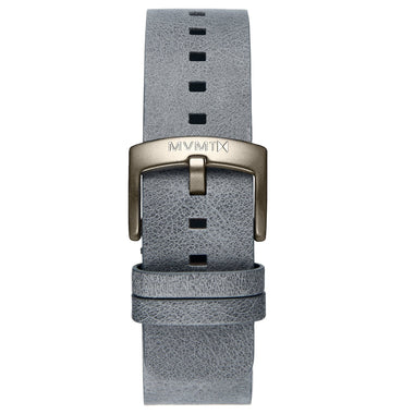 Blacktop - 24mm Grey Leather Taupe