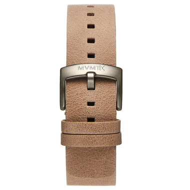 Blacktop - 24mm Sandstone Leather Taupe