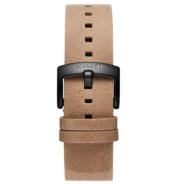Blacktop - 24mm Sandstone Leather