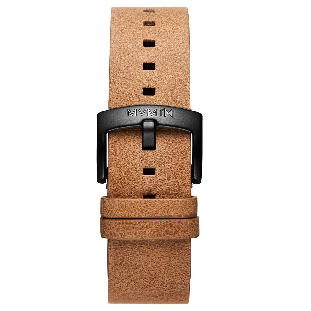Blacktop - 24mm Caramel Leather