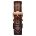 Arc Automatic - 20mm Dark Brown Leather