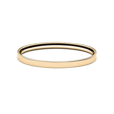 Ellipse Bangle Gold