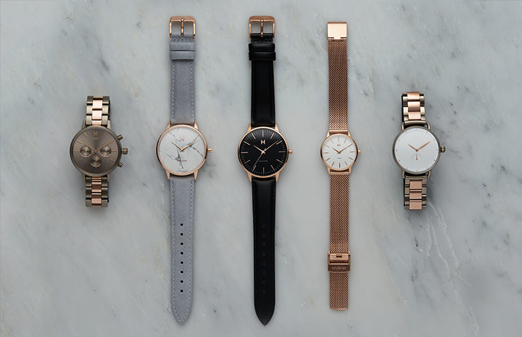 womens best selling watches on a grey background