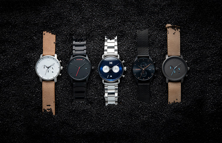 mens best selling watches on a black background
