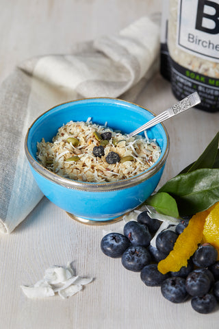 Lemon + Blueberry Bircher, 360 grams