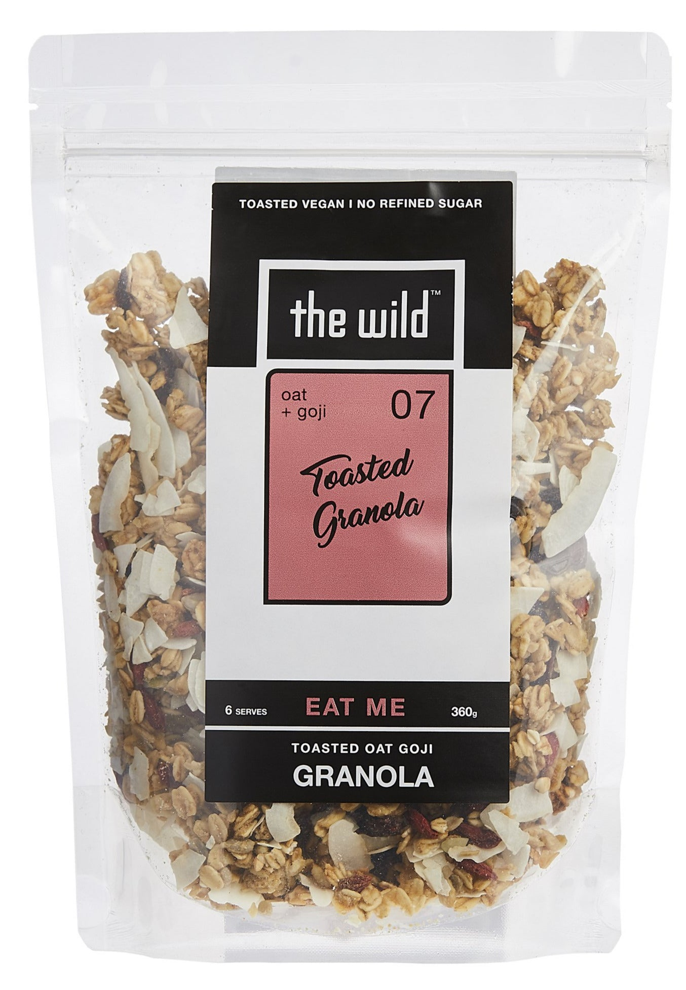 Oat + Goji Toasted Granola, 360g or 1kg