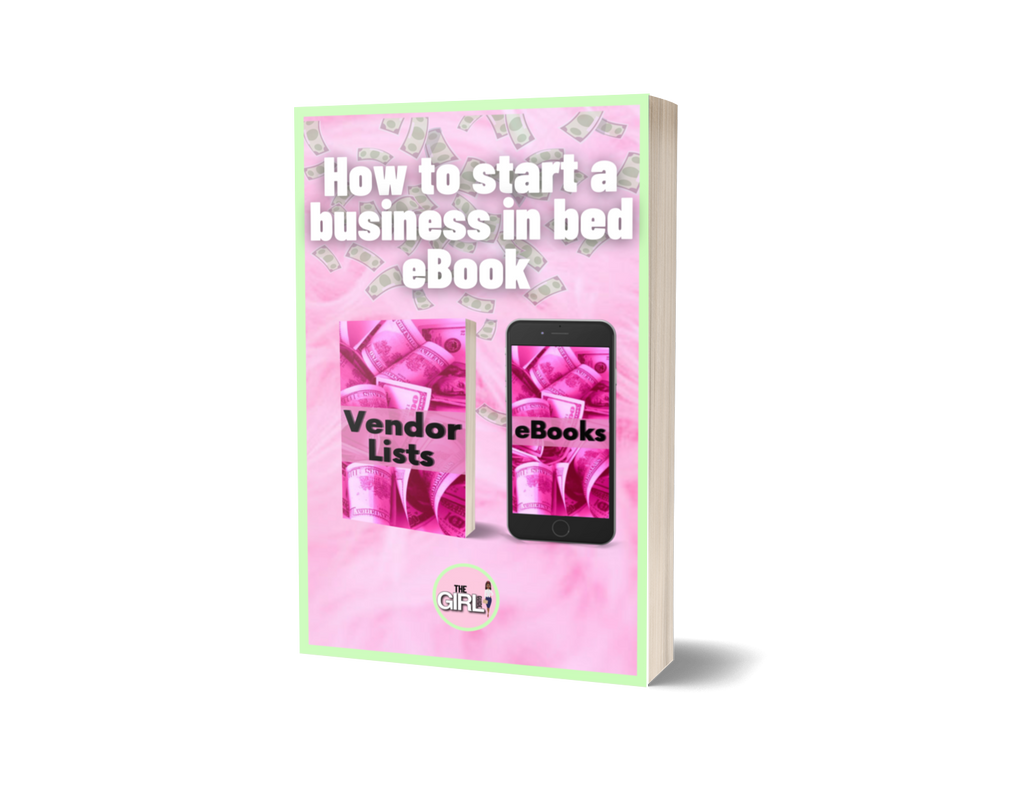 How to Start A Business In Bed E-Book