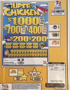Super Chicken - Jar Ticket
