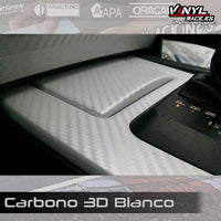 Carbono 3D Blanco - Vinyl Race
