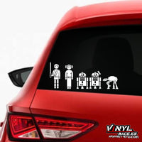 Sticker Familia Jedi