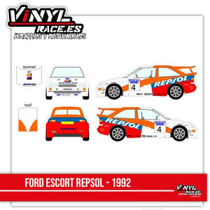 Ford Escort Cosworth Team Repsol - Vinyl Race