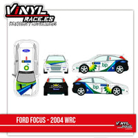 Ford Focus Team Bp 2004 - Vinyl Race