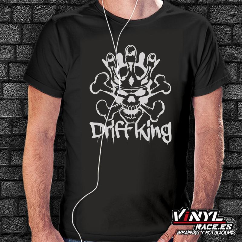 Camiseta Drift King - Vinyl Race