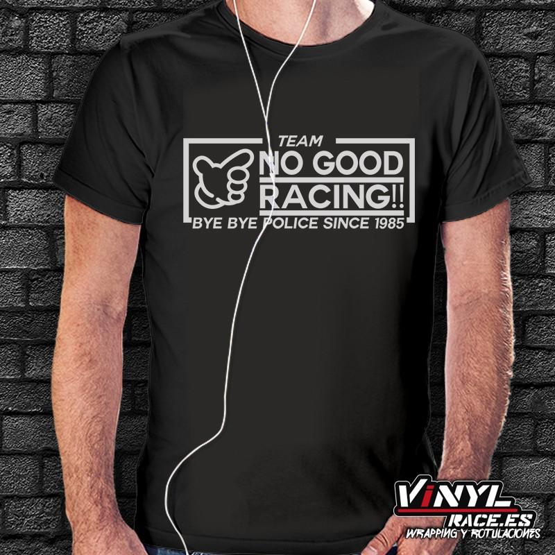 Camiseta No Good Racing, Bye Bye Police! - Vinyl Race