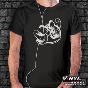 Camiseta Turbo-Moda Racing-VinylRace.es